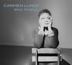 Photographic CD album cover of Carmen Lundy Soul to Soul