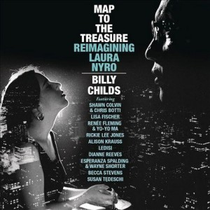 Photographic CD album cover of Map to the Treasure Reimagining Laura Nyro - Billy Childs